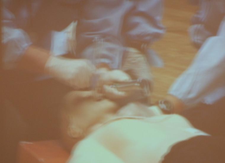 緊迫の救急現場